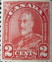 "CANADA STAMPS #165 MINT 1930 ""KGV ARCH LEAF ISSUE"" W/MISSING RED INK ERRORS"