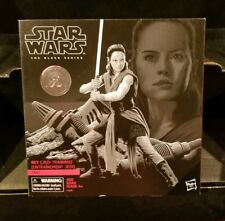 Toys R Us Exclusive STAR WARS THE BLACK SERIES Jedi Training Rey Action Figure