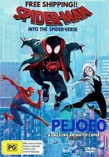 Spider Man Into The Spider Verse DVD Reg 4 FREE POST! (2018) New!