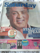 SYLVESTER STALLONE UK PHOTO COVER INTERVIEW JUNE 2014 KASABIAN