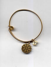 venus flower bracelet Alex & Ani gold