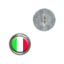 Italy Italian Flag - Metal Craft Sewing Novelty Buttons Set of 4