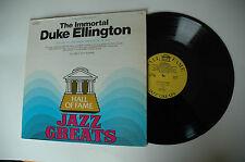 33RPM Jazz Vinyl The Immortal Duke Ellington of 1943 Vol 2 of 3 JG626  010813LAE