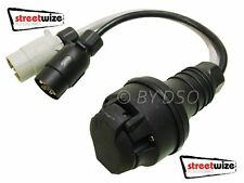 Streetwise 13 Pin to 7 Pin Conversion Lead For Caravan Connection
