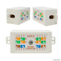 Coupleur Extendeur Réseau Boîte Jonction RJ45 Cat5e/Cat6 pour Câble LAN Ethernet