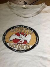 Vintage Led Zeppelin T Shirt. 1979 Original. Knebworth. Small