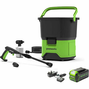 Greenworks G40GDC40 40v Cordless Pressure Washer 70 Bar 1 x 4ah Li-ion