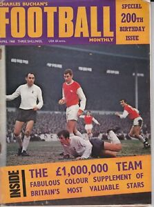 Charles Buchan's Football Monthly April 1968