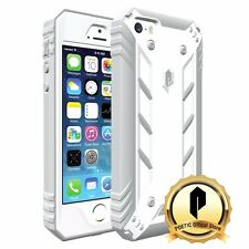 POETIC For iPhone SE /5S /5 [Revolution] With Built-In Screen Protector Case WHT