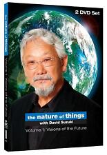 NEW 2DVD - THE NATURE OF THINGS - DAVID SUZUKI - VOL 1 VISIONS OF THE FUTURE