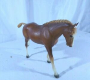 "Breyer "" Cantering Welsh Pony"" (CWP) Introduced 1971, 11x7, Collectible, # 7182"
