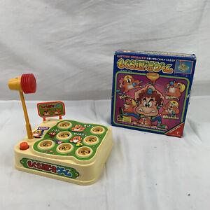Rare Vintage Yonezawa 1982  Wack A Mole Tin Toy Battery In Original Box Japen