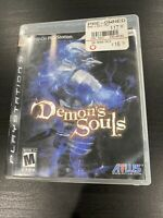 Demon's Souls (Sony PlayStation 3, 2009) Black Label COMPLETE PS3