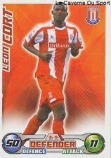 LEON CORT # GUYANA STOKE CITY.FC BURNLEY.FC CARD PREMIER LEAGUE 2009 TOPPS