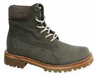 Timberland Womens Fabric boots Green  A1GS7 - UK 4 - BNIB