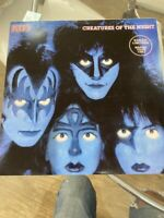 Rare Kiss Creatures Of The Night Brazil Lp 1983 Ltd Tour Ed Vinnie Vicent Cover
