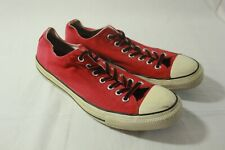 Converse All Star Low Tops Red Size 10