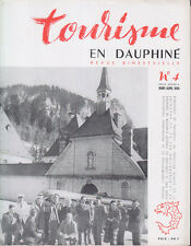 C1 Tourisme en DAUPHINE 4 1954 DAUPHINE THERMAL Thermalisme GRENOBLE Chamrousse