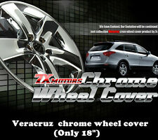 New Chrome Wheel skin Cover 18 inch For Hyundai Veracruz  (2007 ~ 2013)