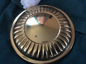 3 Sets of Large Lazo Brass Medallions-Heavy- Tiebacks - J.C. Penny