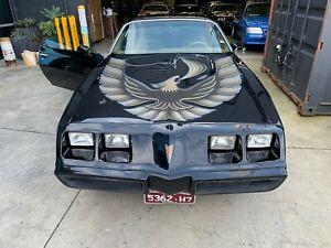 1980 PONTIAC TRANS AM LIMITED EDITION TURBO V8  RARE!!