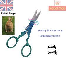 Embroidery Scissors Trimming Dressmaking Shears Cross-Stitch Stork Rabbit Shape