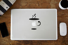 "Coffee Cup Vinyl Decal Sticker for Apple MacBook Air/Pro Laptop 11"" 12"" 13"" 15"""