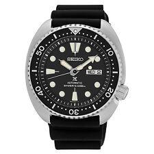 New Seiko SRP777 Prospex Automatic Diver Black Dial Silicone Strap Mens Watch