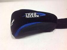 Tiger Shark #4 fairway wood headcover black/blue