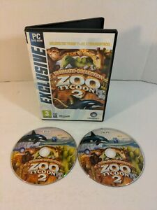 Video Game PC Ultimate Collection Zoo Tycoon 2 **Disc 2 & 3 Only**