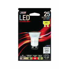 NOS! FEIT ELECTRIC DIMMABLE LED MR11 BULB, 25W, BPMR11/GU10/LED