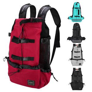 Large Pet Dog Carrier Bag Breathable Labrador Backpack for Riding Hiking Travel
