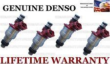 Upgraded Set Of 4 Genuine Denso Fuel Injectors for Mazda MPV B2600 2.6L