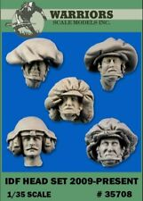 Warriors 1:35 IDF Head Set 2009-Present Resin Figure Detail Set #35708