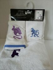 NEW Disney Aladdin Bath Towel~Hand Towel~Washcloth Set