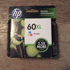 HP 60XL Tri Color Ink Cartridge CC644WN NEW