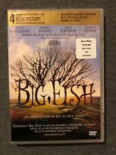 Big Fish: Ewan McGregor (Dvd, 2004 ] Brand New: Y-Folded Sealed Tim Burton