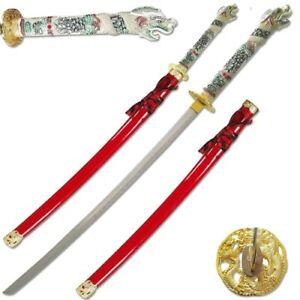 3rd Gen Highlander Connor MacLeod Dragon Samurai Katana Sword & Scabbard '