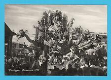 6661) Viareggio Carnevale 1952 < L' Avventuroso > Foto V. Vespignani