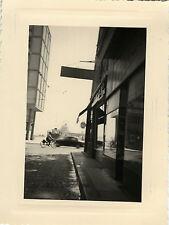 PHOTO ANCIENNE - VINTAGE SNAPSHOT - TOULON VAR RUE D'ALGER PORT BATEAU - STREET