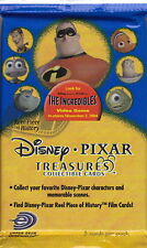 DISNEY PIXAR TREASURES - Trading Card Packs (10) [Upper Deck Entertainment] #NEW
