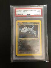 Pokemon - PSA 9 Steelix Neo Genesis Holo 15/111 Mint