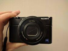 Sony Cyber-shot DSC-RX100 20.2 MP Digital Pocket Camera 3.6X Zoom w/ 16GB SD