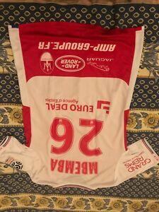 maillot porte par Nolan mbemba stade de Reims saison 2017 -2018