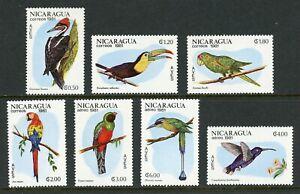 Nicaragua Scott #1125//C988 MNH Birds FAUNA CV$5+