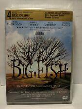 Big Fish [Dvd] New! Ewan McGregor, Tim Burton