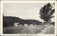 Jackson NH Ellis River Camps Postcard