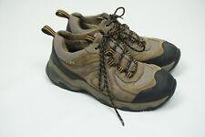 Cabelas Dry Pus Brown Hiking Mens Low Boots Shoes Sz 8D