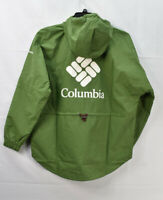 Columbia Women's Park Hooded Rain Jacket, Green, Size L, $115, NwT