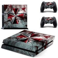Resident Evil DECAL STICKER 4 PS4 PlayStation For Console Controller